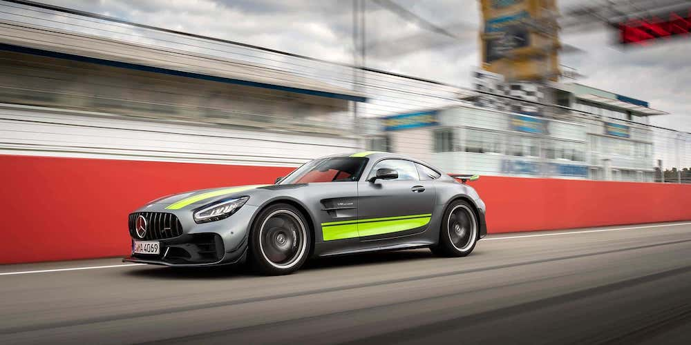 Mercedes-Benz AMG® GT R Pro on Racetrack