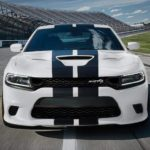 front end of 2019 Dodge Charger SRT® Hellcat