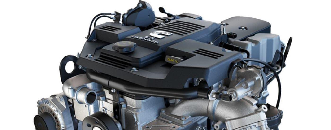 RAM 2500 Cummins® engine