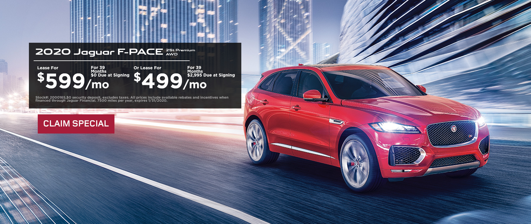 2020 F-PACE Special