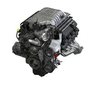 SUPERCHARGED 6.2L HEMI® HIGH-OUTPUT HELLCAT REDEYE V8 ENGINE