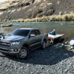 2020 Ford Ranger Lariat Supercrew® towing capacity