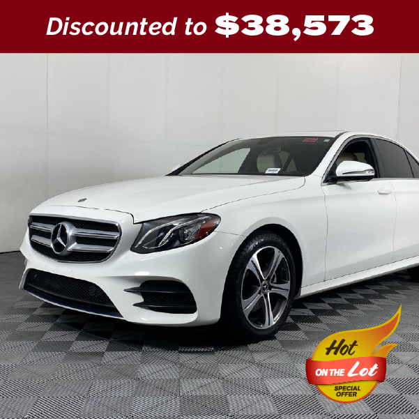PRE-OWNED 2019 MERCEDES-BENZ E-CLASS E 300 4MATIC® 4MATIC® 4D SEDAN