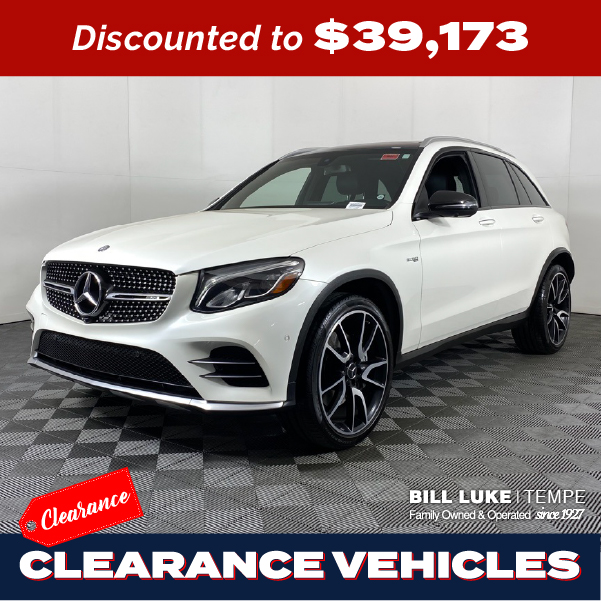 PRE-OWNED 2017 MERCEDES-BENZ GLC 43 AMG® 4MATIC® 4D SPORT UTILITY