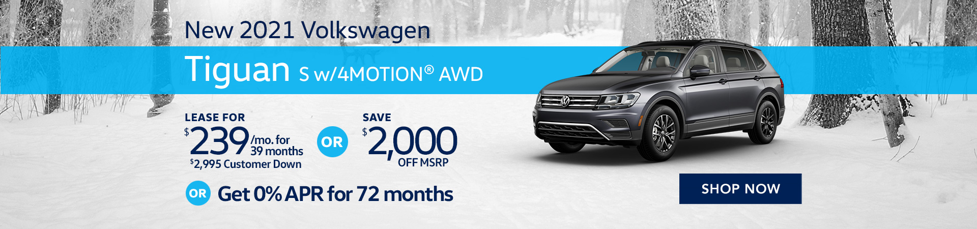 BVW_1920x450_New 2021 Volkswagen Tiguan S with 4MOTION® AWD_03_21
