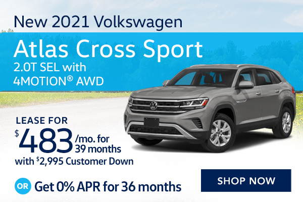 New 2021 Volkswagen Atlas Cross Sport 2.0T SEL with 4MOTION® AWD