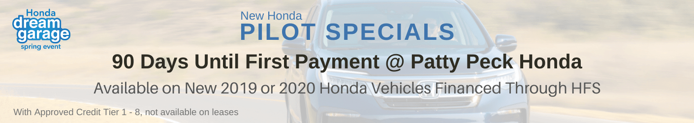 Honda Pilot Sale Banner