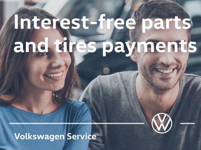 We Offer Interest-Free Parts and Tire Payments