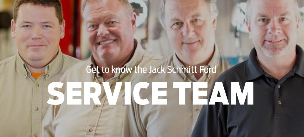 Jack Schmitt Ford Service Team