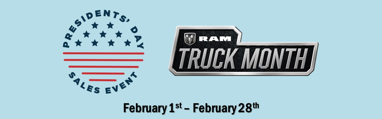 Videon February 2019 - President's Day Sales Event And RAM Truck Month