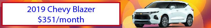 September blazer payment offer