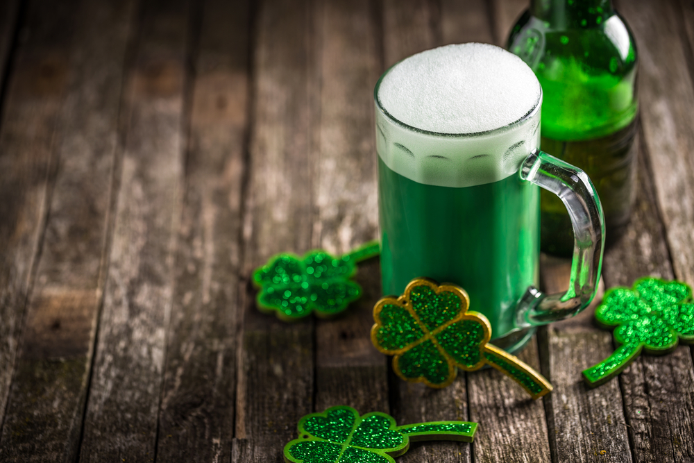 7c39a86de ... treat St. Patrick's Day as a time to drink green beer and toast to your  Irish heritage. Even though Ireland is more than 5,000 miles away, you can  ...