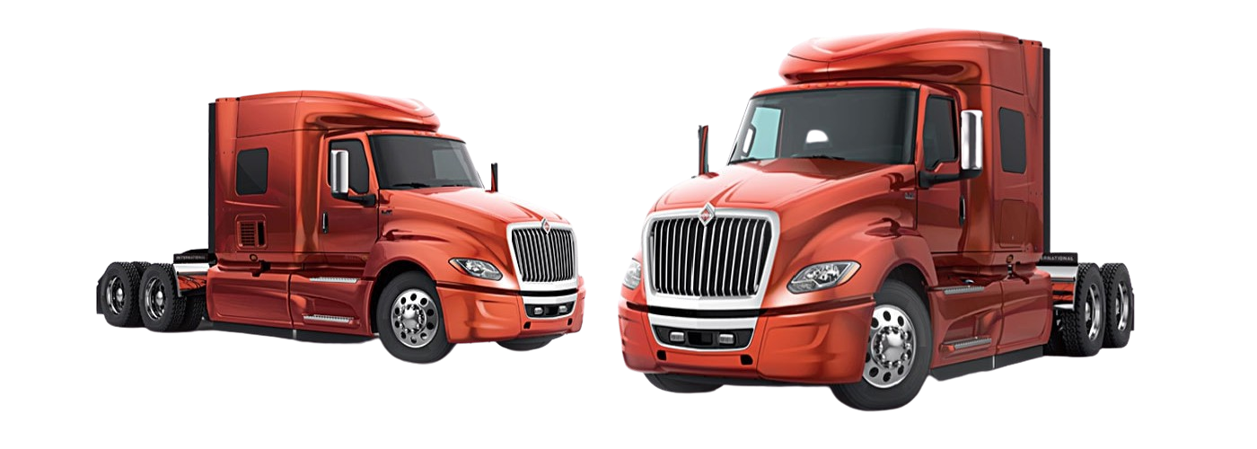 International LT® Series vs. Freightliner