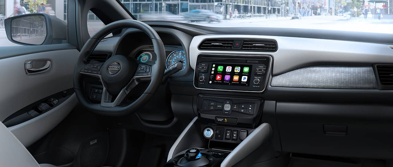 Nissan dashboard with NissanConnect® display