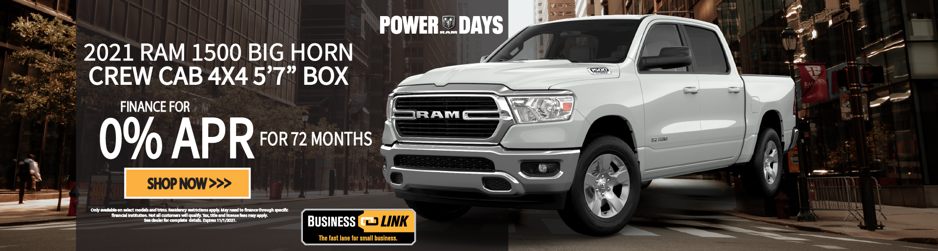 NEW 2021 RAM 1500 BIG HORN® CREW CAB 4X4 5'7- BOX