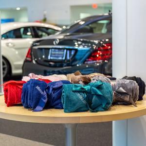 Mercedes-Benz Blanket