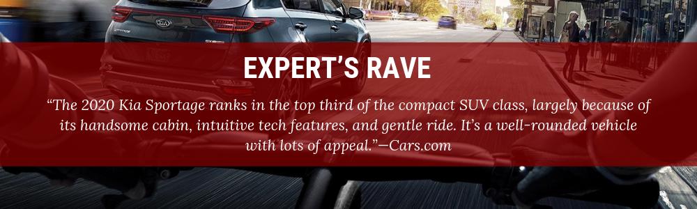 EXPERT'S RAVE