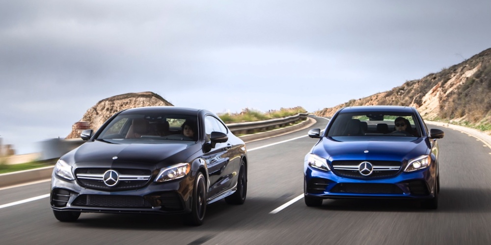 Mercedes-Benz AMG® Models on Open Highway