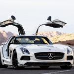 Mercedes-Benz SLS AMG Coupé Black Series high-performance sport