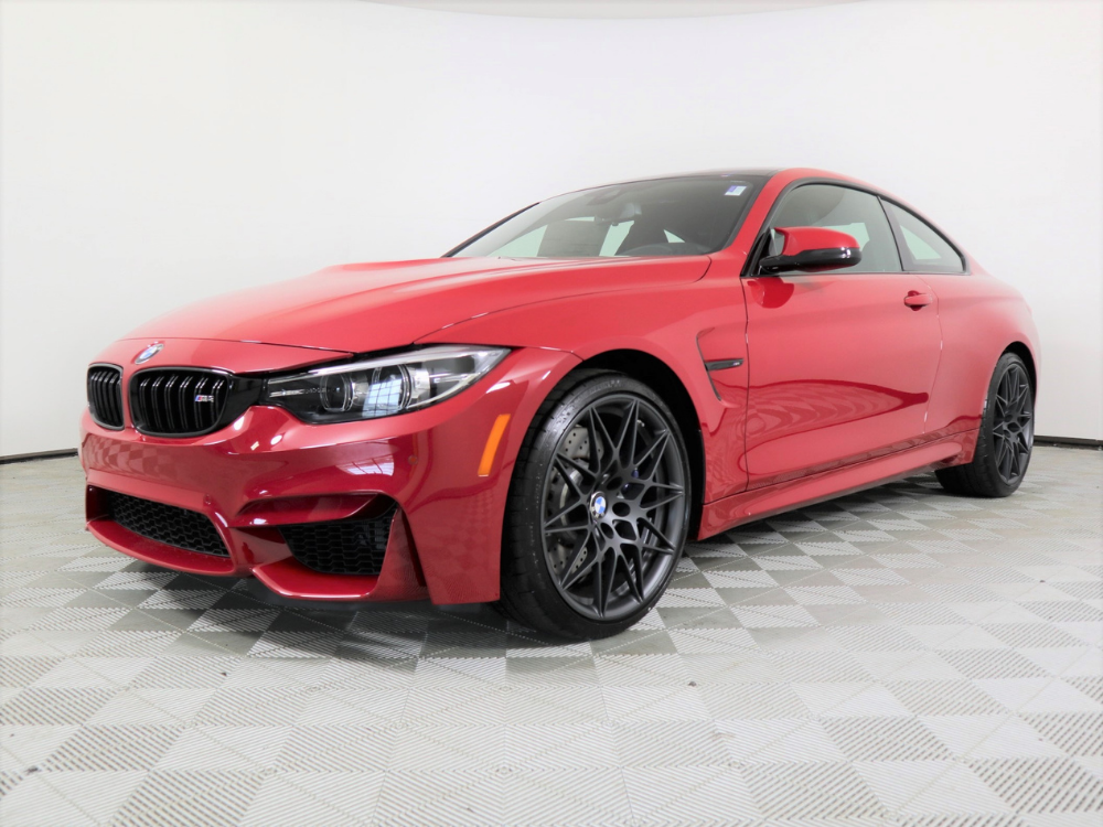 """2020 BMW M4 COUPE """"HERITAGE EDITION"""" MANUAL - Imola Red 1"""