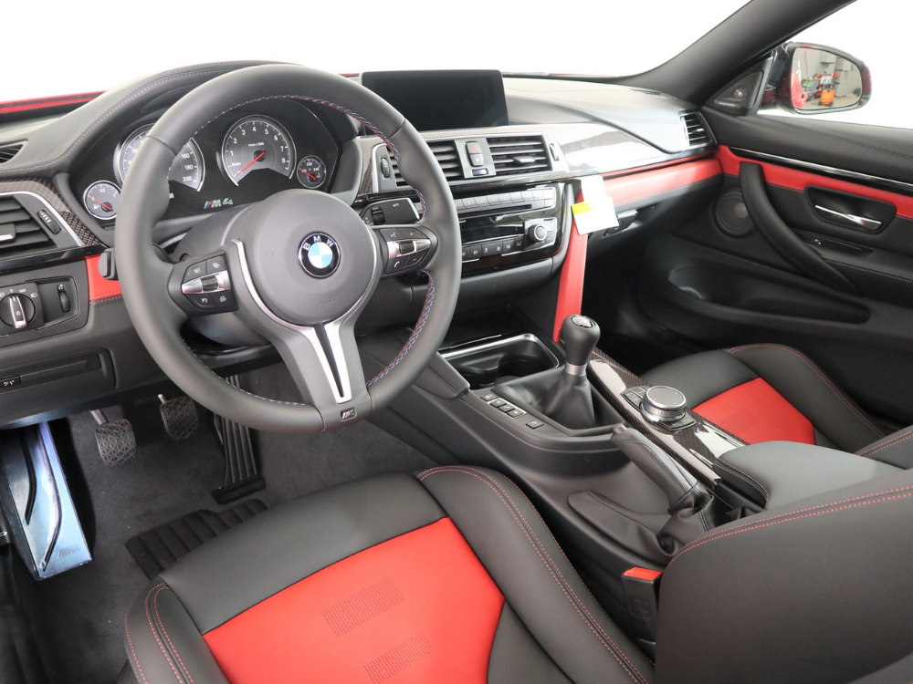 """2020 BMW M4 COUPE """"HERITAGE EDITION"""" MANUAL – Imola Red 3"""
