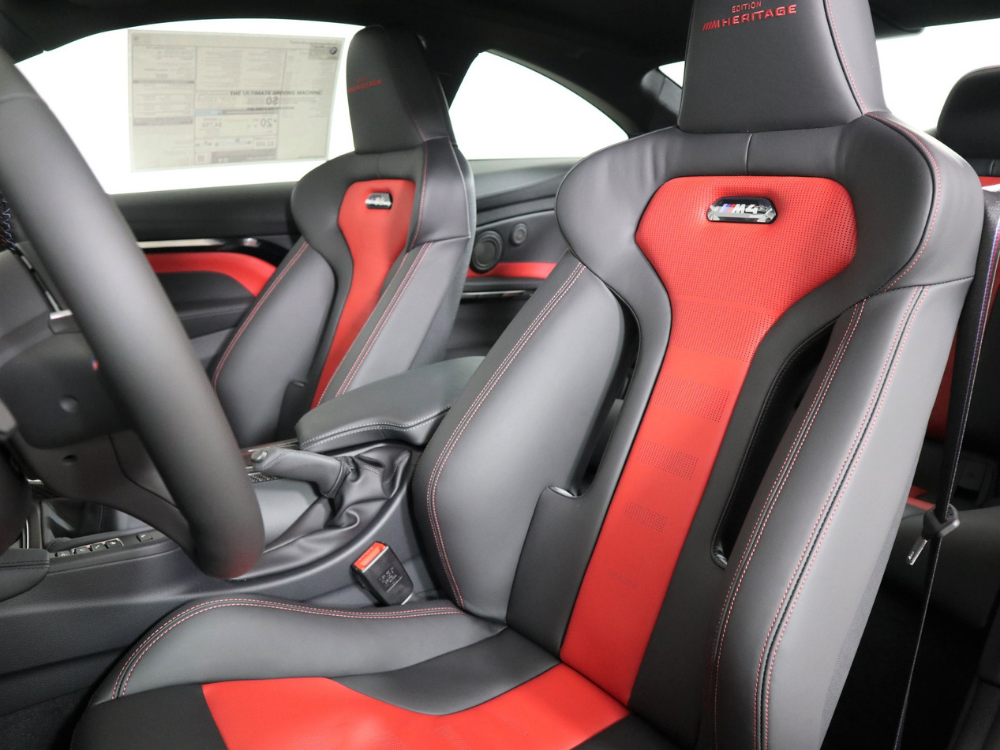 2020 BMW M4 COUPE HERITAGE EDITION MANUAL - Imola Red 4
