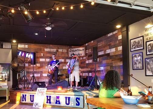 Band at Nut Haus