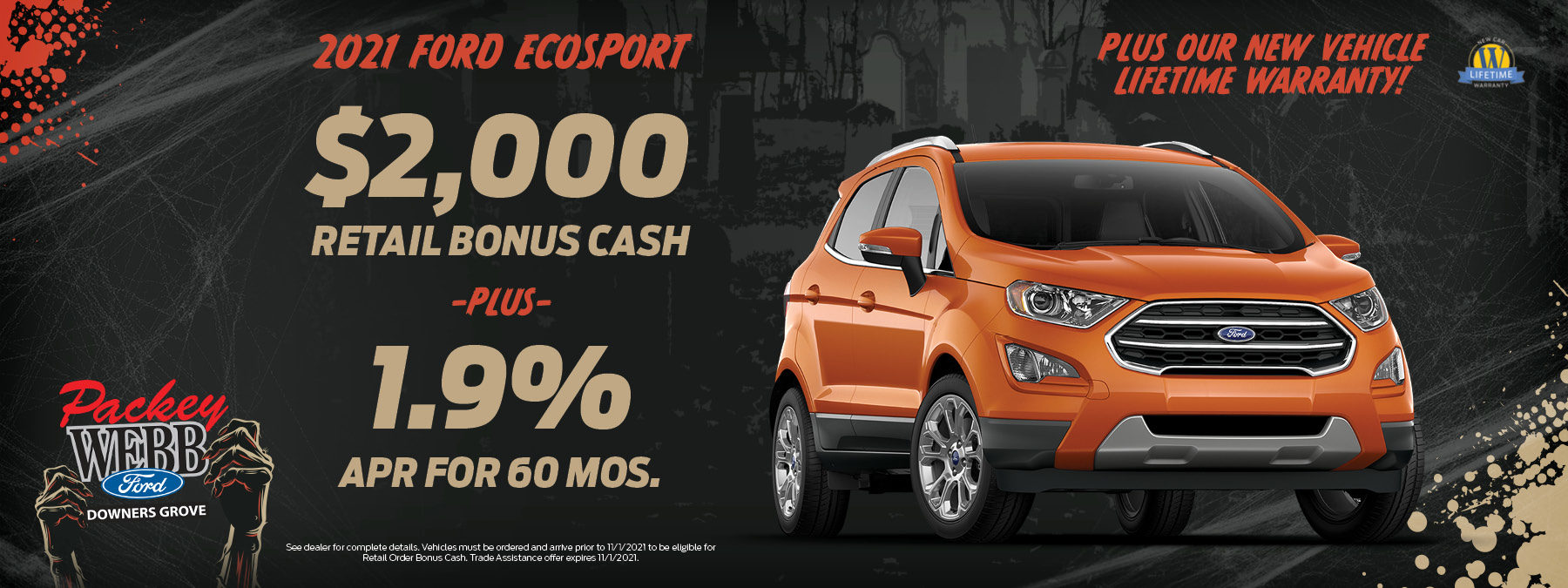 2021 Ford EcoSport   Packey Webb Ford   Downers Grove, IL