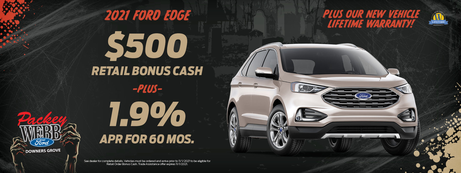 2021 Ford Edge   Packey Webb Ford   Downers Grove, IL