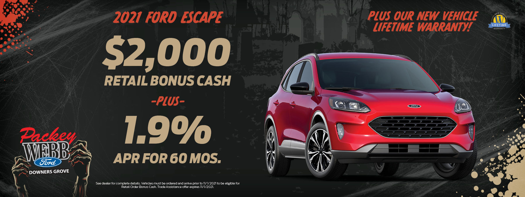 2021 Ford Escape   Packey Webb Ford   Downers Grove, IL