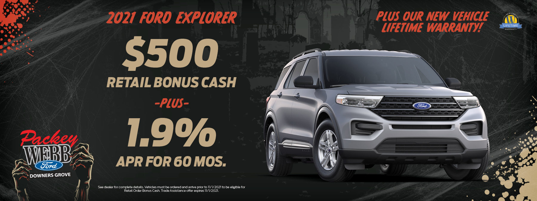 2021 Ford Explorer   Packey Webb Ford   Downers Grove, IL