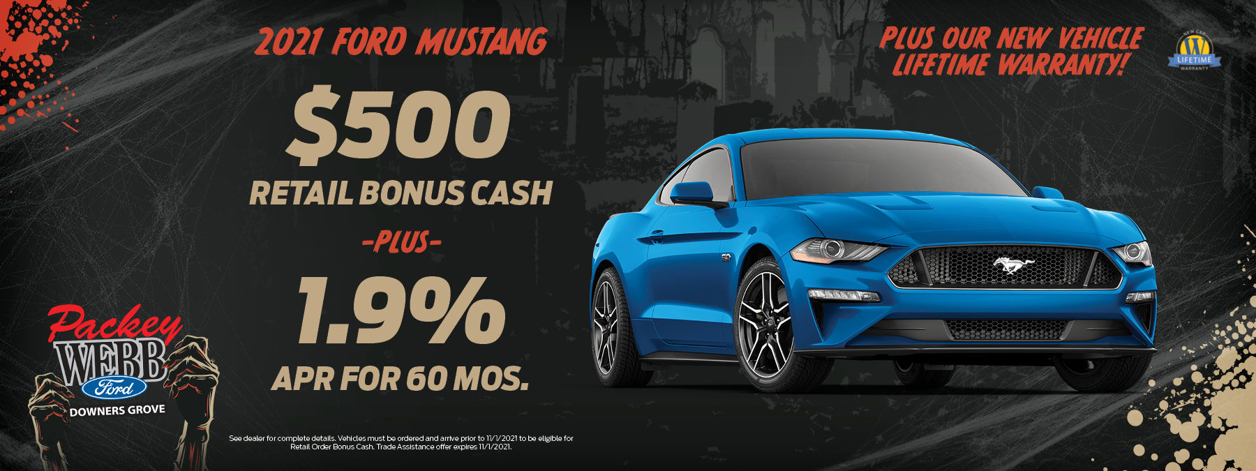 2021 Ford Mustang   Packey Webb Ford   Downers Grove, IL