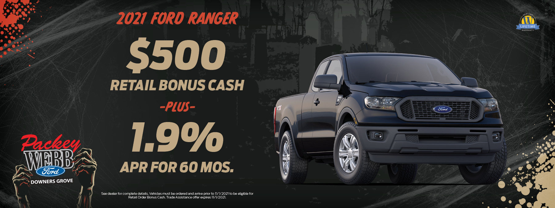 2021 Ford Ranger   Packey Webb Ford   Downers Grove, IL
