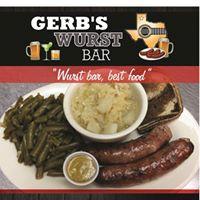 Gerb's Wurst Bar logo