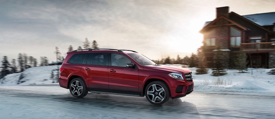 Mercedes-Benz GLS SUV with 4MATIC®