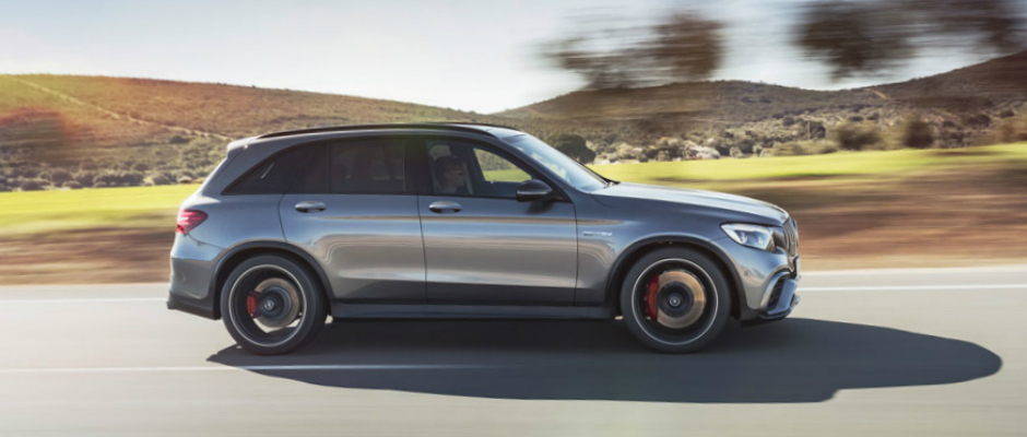 The All-New 2018 Mercedes-AMG® GLC 63 SUV