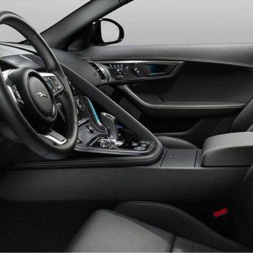 2019 Jaguar F-Type Convertible front interior