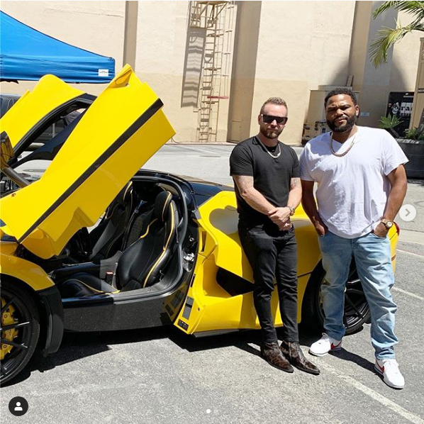 RD with LaFerrari and Anthony Anderson