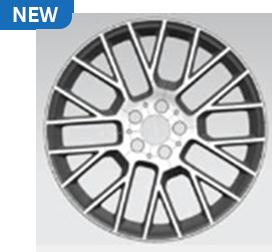 """15R - 19"""" Multispoke Wheels"""