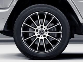 """RG6 - 20"""" AMG Multi-Spoke Wheels w/ Black Accents"""