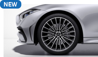 """RVQ - 20"""" AMG Multi-Spoke Wheels with Black Accents"""