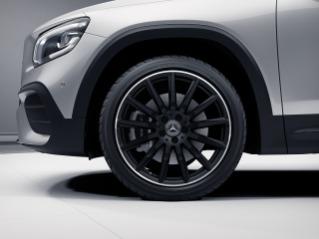 """RVW - 20"""" AMG Multi-Spoke Wheels, Black"""